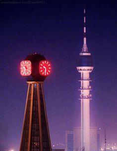 Baghdad clock and Baghdad Tower ساعة بغداد و برج بغداد