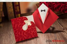 唯思美2015新款 中式时尚男女结婚喜帖请柬请帖 个性定制-tmall.com天猫