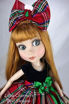 "Dress fits Tonner Patience, Marley, 14"" bjd.  *Little Charmers Doll Designs"