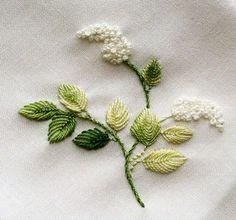 объемная (бразильская) вышивка
