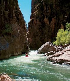 #Kayaking the Black Canyon of the Gunnison River... not for the faint of heart! #Gunnison #Crested Butte, Colorado www.VisitGCB.com