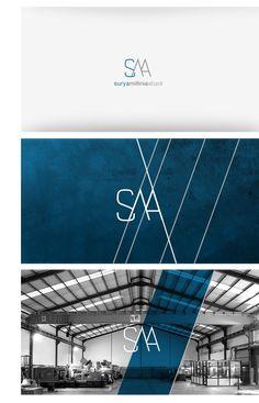 Works   Surya Millinia Abadi SMA identity   Visual Cast Designology Indonesia #logo