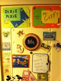 Decorating your Stateroom Door