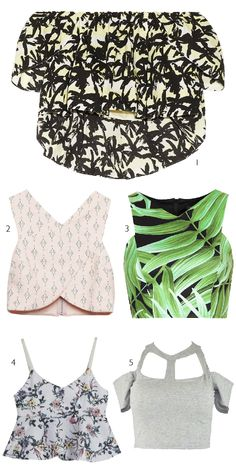 Dare to DIY: Inspiración DIY: Crop Tops
