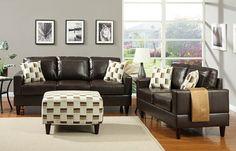 #ambfurniture.com         #love                     #A.M.B. #Furniture #Design #Living #room #furniture #Sofas #Sets #Leather #Sofa #sets #Espresso #bonded #leather #upholstered #sofa #love #seat             A.M.B. Furniture & Design :: Living room furniture :: Sofas and Sets :: Leather Sofa sets :: 2 pc Espresso bonded leather upholstered sofa and love seat set                                                    http://www.seapai.com/product.aspx?PID=1306100