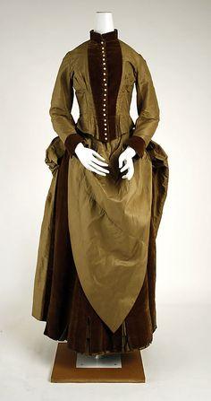Dress. ca. 1884