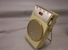 Transistor Radio SONY TR-610 Six  Japan by retroricks on Etsy