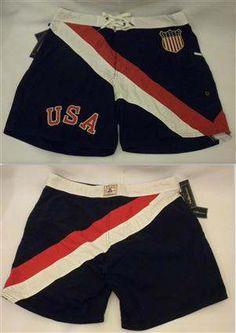 Ralph Lauren Classic AUS-83 Series Navy Beach Shorts