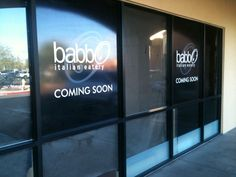Our new Tempe location is coming soon!  9920 S. Rural rd. Tempe AZ, 85284 www.babboitalian.com