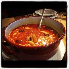 Fabada Asturiana..popular soup