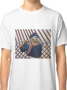 Mongolian fluteplayer Classic T-Shirt