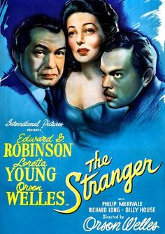 [VOIR-FILM]] Regarder Gratuitement The Stranger VFHD - Full Film. The Stranger Film complet vf, The Stranger Streaming Complet vostfr, The Stranger Film en entier Français Streaming VF Loretta Young, Movies 2019, Hd Movies, Good Old Movies, Edward G Robinson, Movie Of The Week, Drama, Movies Now Playing, Weird
