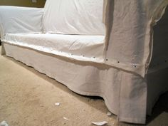 slip covering a couch!