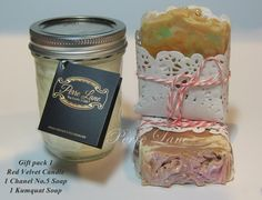 Gift packs can be made up to any value at Perre Lane Candles & Soaps