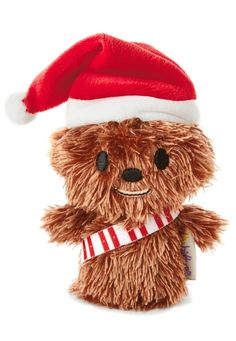 Give 'em a little something to love this Christmas with a pocket-sized itty bittys® Chewbacca™, decked out for the holidays! Collect them all and give to each of your kiddos as a fun stocking stuffer gift idea.