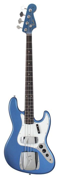 Fender American Vintage 64 Jazz Bass Lake Placid Blue   Rainbow Guitars