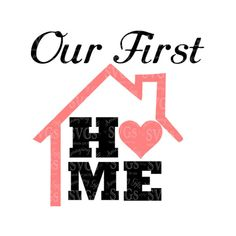 SVG - Our First Home - Ornament Design - First Home Design - First Home Card Design - First Home wall Art Design - Housewarming Gift