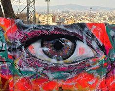 New Street Art • L7m Barcelona #art #graffiti #mural #streetart