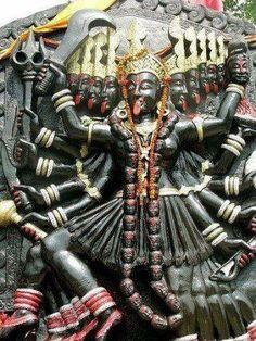 Maha Kali/dus maha vidhiya/kali - mahakadi mataji- goddess