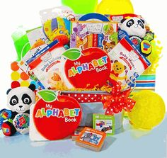 Baby Valedictorian Deluxe Baby Einstein Library by Baby Gift Basket Baby Gift Baskets Galore; The Perfect Way To Say Welcome. Unique Baby Gifts, Personalized Baby Gifts, New Baby Gifts, Small Gifts, Baby Einstein Party, Welcome New Baby, Baby Eating, Baby Development, Newborn Baby Gifts