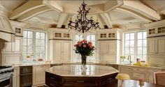 Love this design, cabinetry & floor plan by Traci Zeller Design   #kitchen #beautiful #5thWall