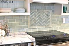 Kitchen Backsplash Reveal | Jenallyson - The Project Girl - Fun Easy Craft Projects including Home Improvement and Decorating - For Women and Moms