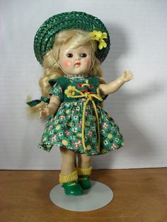 Vintage Vogue Ginny Doll PLW Number 42 from 1954. $220.00, via Etsy.