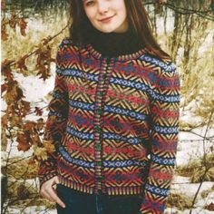 Autumn Color Fair Isle by Betts Lampers--gorgeous!