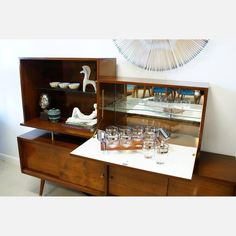 modern bar cart design ideas from wood