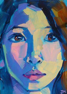 Jessica Miller Gallery of Original Fine Art Painting People, Figure Painting, Painting & Drawing, Abstract Portrait, Portrait Art, Portrait Acrylic, Portrait Paintings, Art Visage, Art Plastique