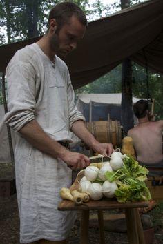 Borre 2014 (mest om mat, igjen) (Vikingsnitt)