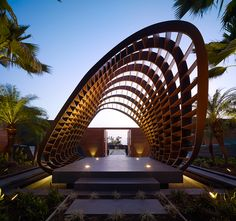 Belzberg architects project the kona residence on cooled lava flows of Hawaii