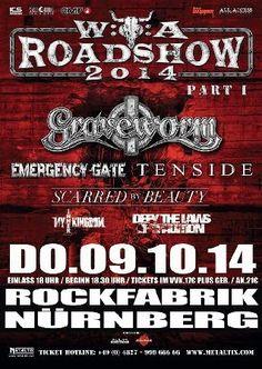 New-Metal-Media der Blog: Der New-Metal-Media Eventtipp - Die WOA Roadshow k... #news #wacken #metal