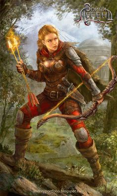 Fire archer by Allnamesinuse on DeviantArt