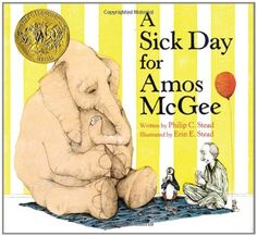 A Sick Day for Amos McGee by Philip C. Stead http://www.amazon.com/dp/1596434023/ref=cm_sw_r_pi_dp_PX9nvb085ZQA4