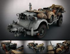 SCI-FI WW2 ALLIED JEEP by Matthias Develtere 1920px X 1479px