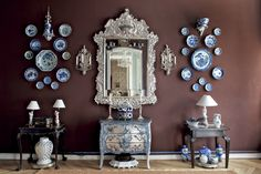 I really have a thing about blue and white porcelain