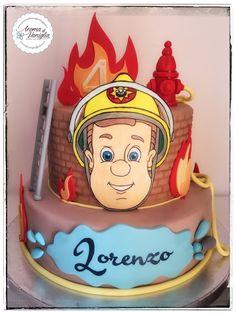 chissà se Lorenzo da grande, vorrà fare il pompiere...