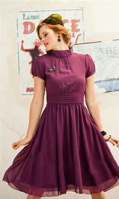 I love this colour, a dress to die for