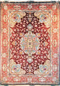 Tabriz Silk Persian Rug | Exclusive collection of rugs and tableau rugs - Treasure Gallery Tabriz Silk Persian Rug You pay: $4,900.00 Retail Price: $14,500.00 You Save: 66% ($9,600.00) Item#: 2007 Category: Small(3x5-5x8) Persian Rugs Design: Size: 150 x 200 (cm) 4' 11 x 6' 6 (ft) Origin: Persian, Tabriz Foundation: Silk Material: Wool & Silk Weave: 100% Hand Woven Age: Brand New KPSI: 700