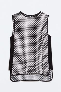 What To Buy At Zara For Under $100 #refinery29  http://www.refinery29.com/zara-under-100-dollars#slide24  A dizzying print that you can't look away from.
