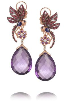 Lydia Courteille drop earrings