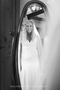 Bride getting ready photo ideas - Ironstone Ranch - Bridal Portrait - Macpherson Photography - C&J Catering - Rustic Farm Wedding  - @Ironstone Ranch - @C&J Catering - http://macfamilyphoto.com #rusticwedding #farmwedding #bride #ido #weddingdress