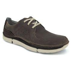 Clarks Nature IV, Zapatillas para Hombre, Negro (Black Leather), 47 EU