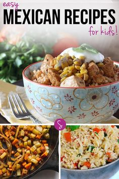 Easy Mexican Recipes for Kids: These recipes are perfect for kid friendly family meals because everyone can get stuck in and enjoy the food together.