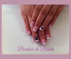 Pink beary french manicure! #french_manicure #nailart #nails #nailswag #nailsalon #kalamaria #skg #thessaloniki #beautysalon #beauty #naildesign #nailpolish #boudoirdebeaute #boudoir_de_beaute #manicure #nails_greece