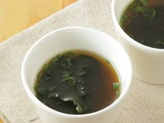 即席スープ