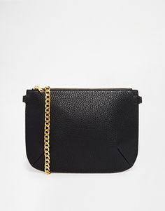 Monki Sara Black Cross Body Bag