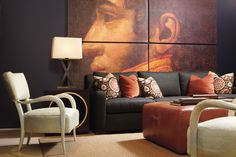 Aspen Faux Horn Chair, Atlanta Furniture Bed Down