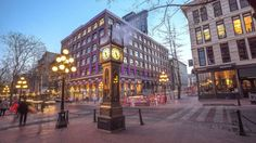 Top 20 things to do in Vancouver: Steam Clock